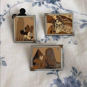 Incomplete Hidden Mickey Landmark Disney Pin Set